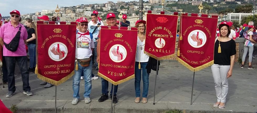 La Fidas castiglionese a Napoli per il raduno nazionale.