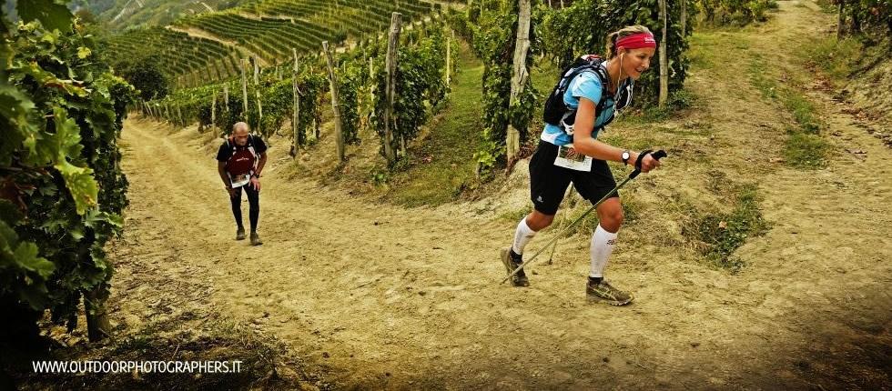 Trail del Moscato sulle colline castiglionesi.