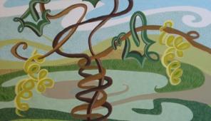 Una delle opere di Lorella Morando