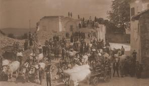 1920 - La costruzione della nuova chiesa di Sant'Andrea